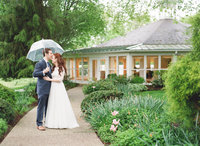 Easton Maryland Rainy Wedding