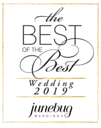 Junebug Winnersbadge Wedding 2019