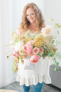 branding photoshoot for florist -1