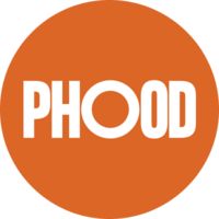 Phood Circle Logo Orange