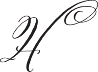 HOPE HELMUTH SCRIPT MONOGRAM 300DPI PNG