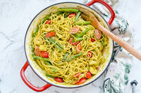 Prawn Asparagus Pesto Pasta-Tara-Tan-Fit-Foodie-Mommy-IIN-Health-Nutrition-Wellness-Coach1
