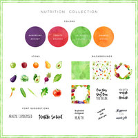 Nutrition Graphics Pack Preview