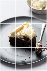 Food Composed - learn how to use the rule of thirds in food photography