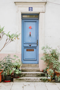 Blue Door Paris