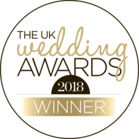 uk WEDDING AWARDS gold