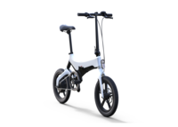 White Commuter Go-Bike M4 Priced at $1600