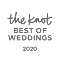 Winner of Best of Weddings from The Knot