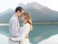 Spray Lakes Engagement Photography