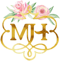 M. Harris Logo - Only MH - Transparent Background