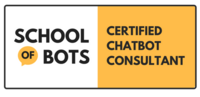 School of bots certified chatbot consultant