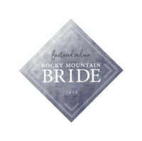 2019 Rocky Mountain Bride Badge