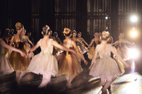 The end of year performance at ASA is spectacular. Ballet recital photography mixed with a full orchestra.