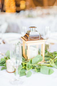 Lantern at Reception