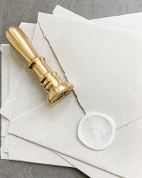 Wax seal, wedding wax seal envelope