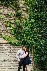 About Dylan and Sandra picture taken by Wesley Forbes Photography at Western University in London Ontario