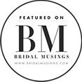 featured on bridal musing