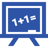 blue board icon