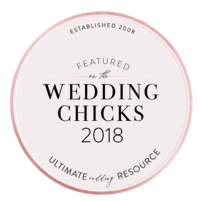 Featured on The Wedding Chicks