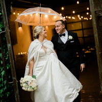 Seattle Wedding Photographer and Videographer Bride and Groom portraits at JM Cellars winter wedding venue