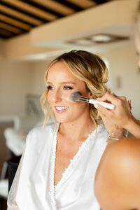 Wedding makeup and hair