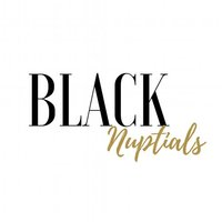 black nuptials Featured wedding vendor badge