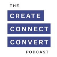 Create Connect Convert Podcast Logo-01