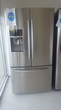 Discount- Appliances-Stainless-Steel-Fridge-1