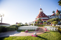 Ceremony Space at Hotel Del Coronado San Diego Venue