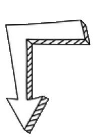 right angle arrow