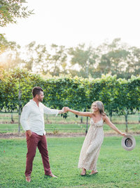 Winery Engagement Session on Film by Magdalena Studios_4