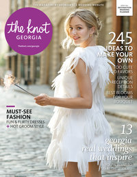 The Knot Georgia Spring 2017 Cover