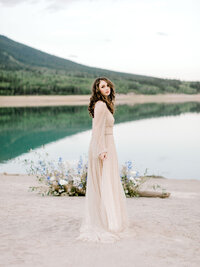 Lake Louise Alberta Wedding Ceremony by Moments by Madeleine