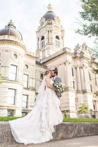 Colin + Danielle | Reception Details | Boulder Creek Bride | Evansville, IN | Old Vanderburgh Courthouse | Southern Illinois Photographer | Destination Wedding Photographer | Wedding Photographer
