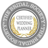 certified wedding planner badge, wedding planner certification