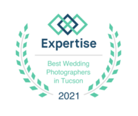 Winner of Best Wedding Photographer in Tucson by Expertise.com