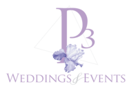 P3 Wedding & Events Logo_Main