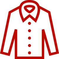 red dress shirt icon