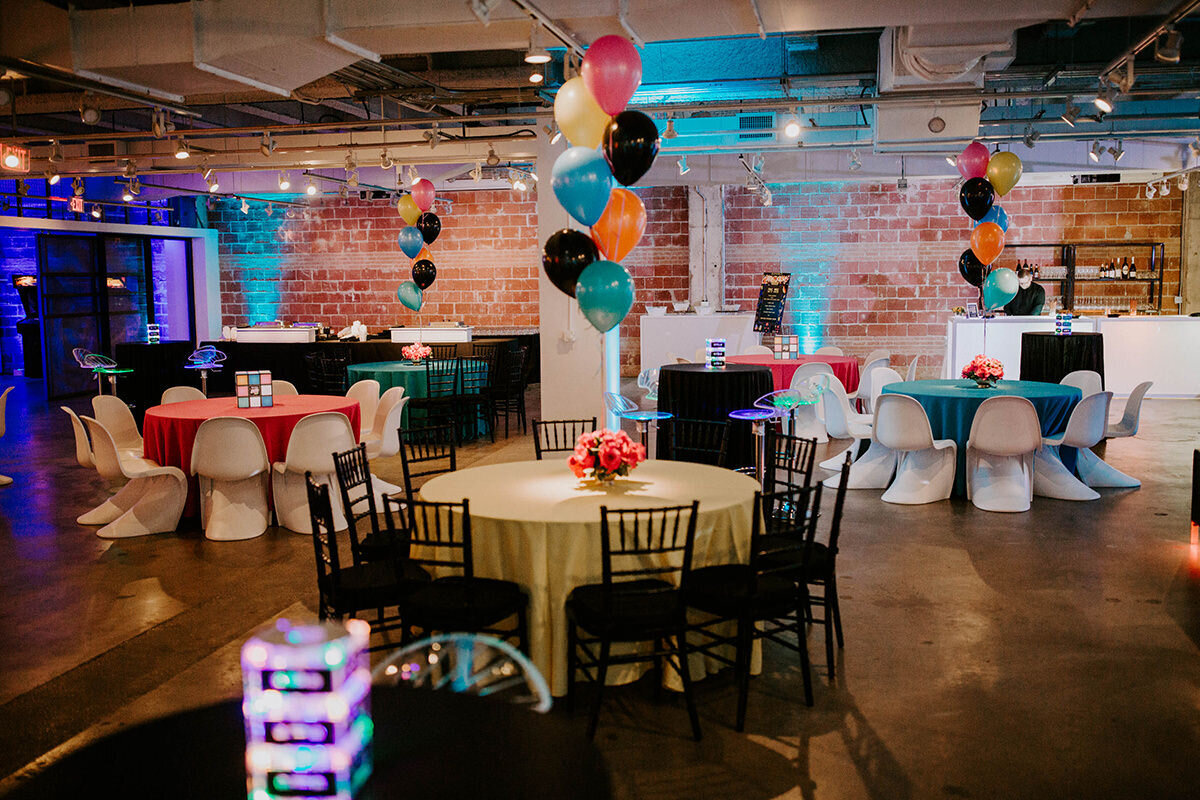 pop parties dallas corporate event planner 80s themed event 10