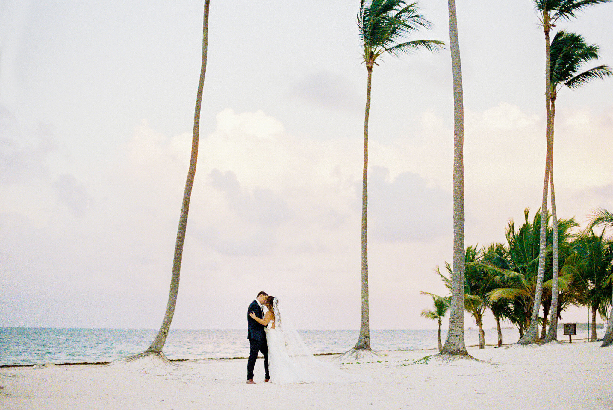 Punta Cana Beach Wedding at Jelly Fish Restaurant