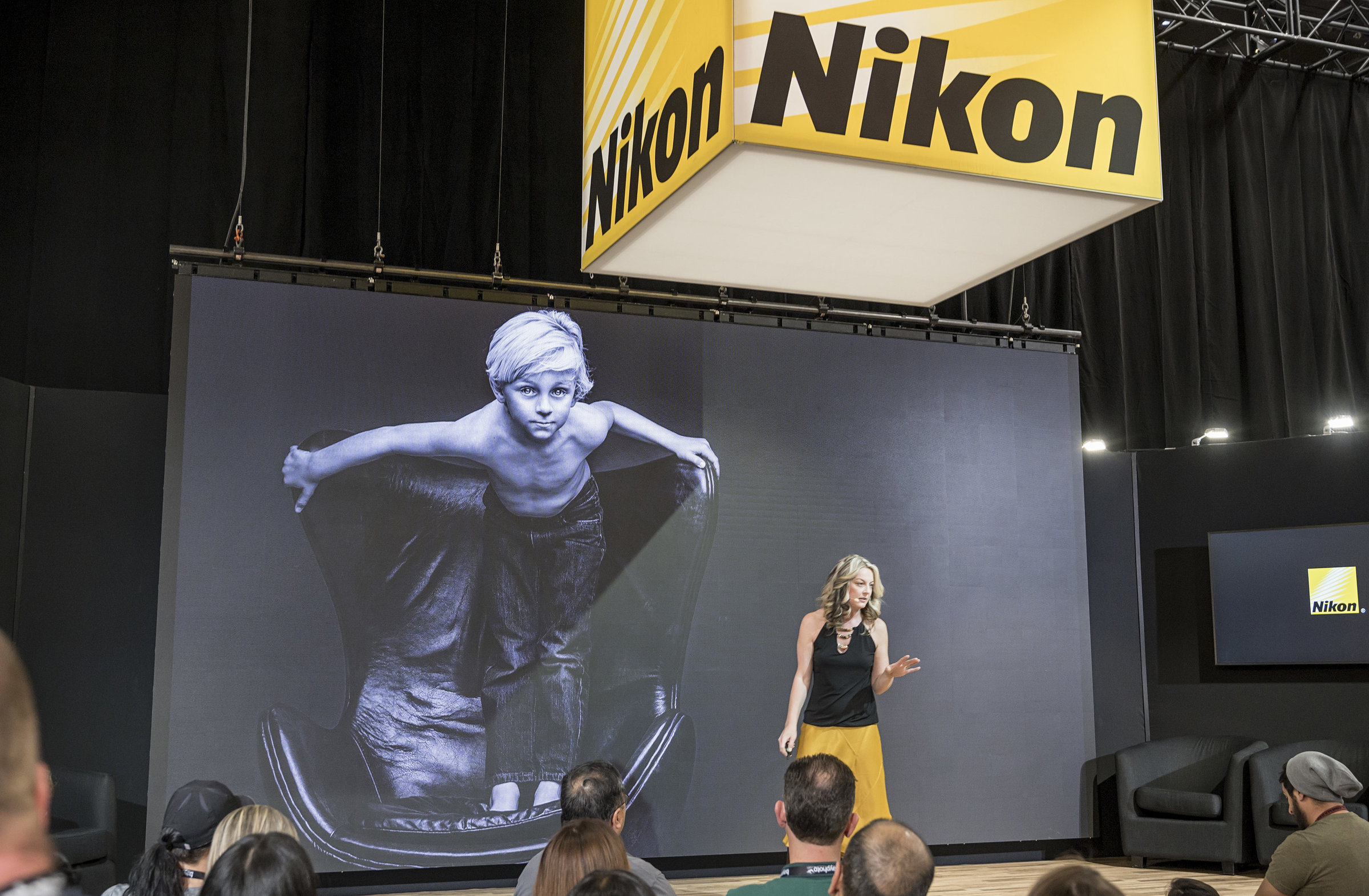 Julia Kelleher. Nikon Ambassador. Speaking at WPPI