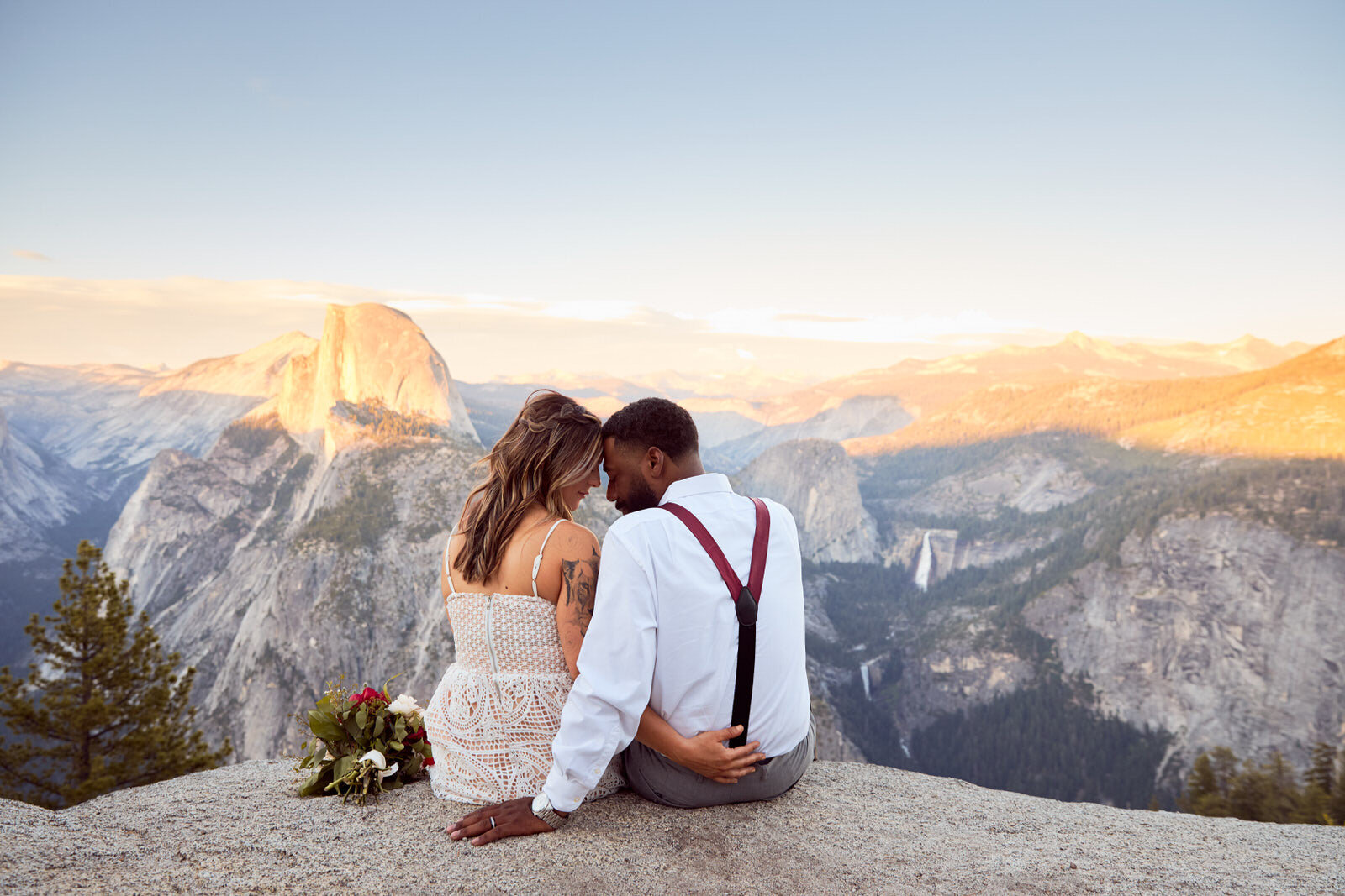 Glacier Point Wedding