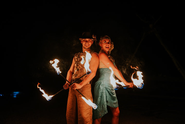 fire dancers marble colorado, marble colorado wedding photographer, beaver lake colorado weddings, fire dancers, reception entertainment, boho wedding photographer, adventure weddings colorado, colorado adventure photography
