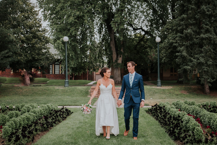 colorado outdoor summer wedding