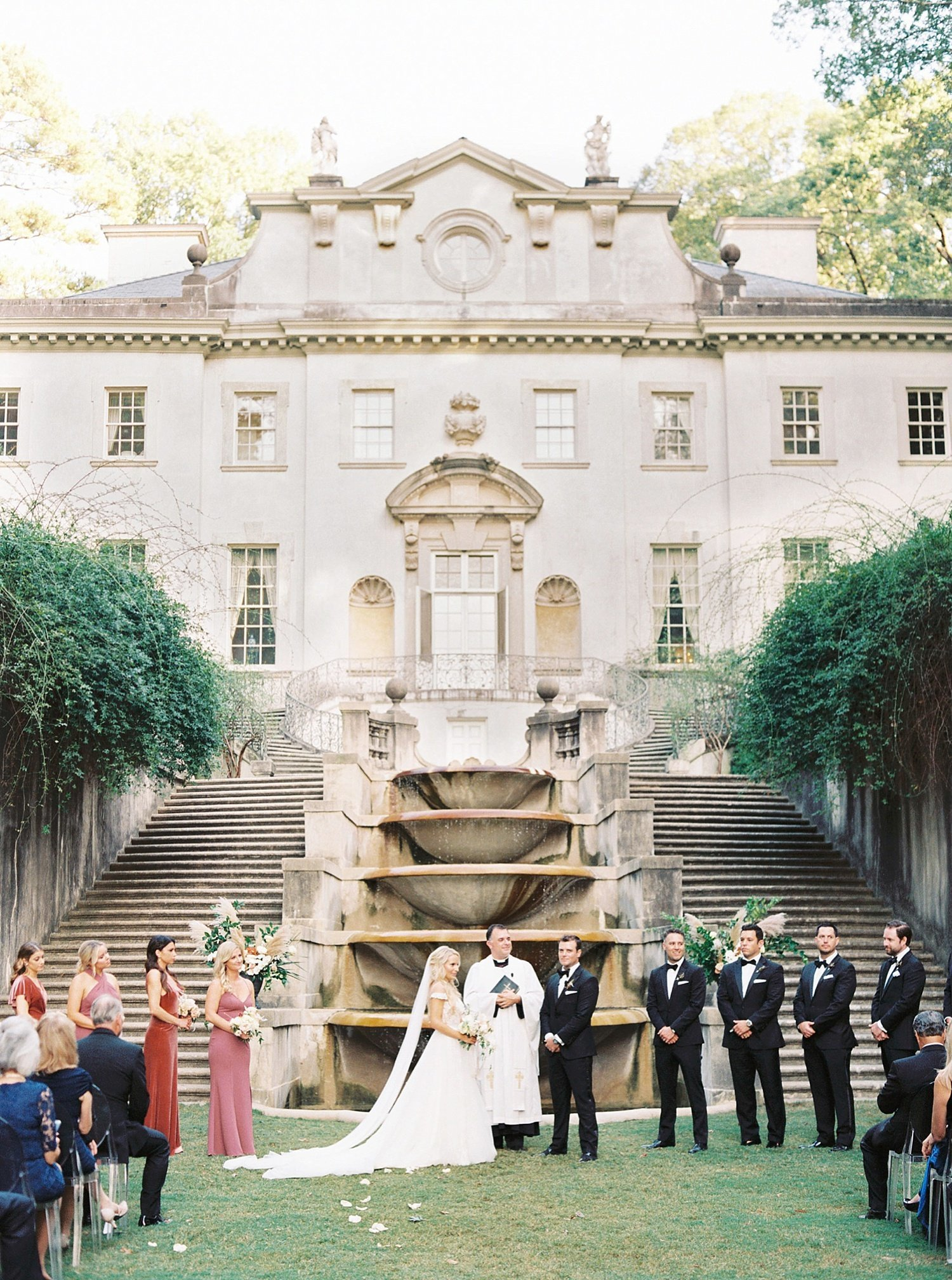 Swan House Wedding