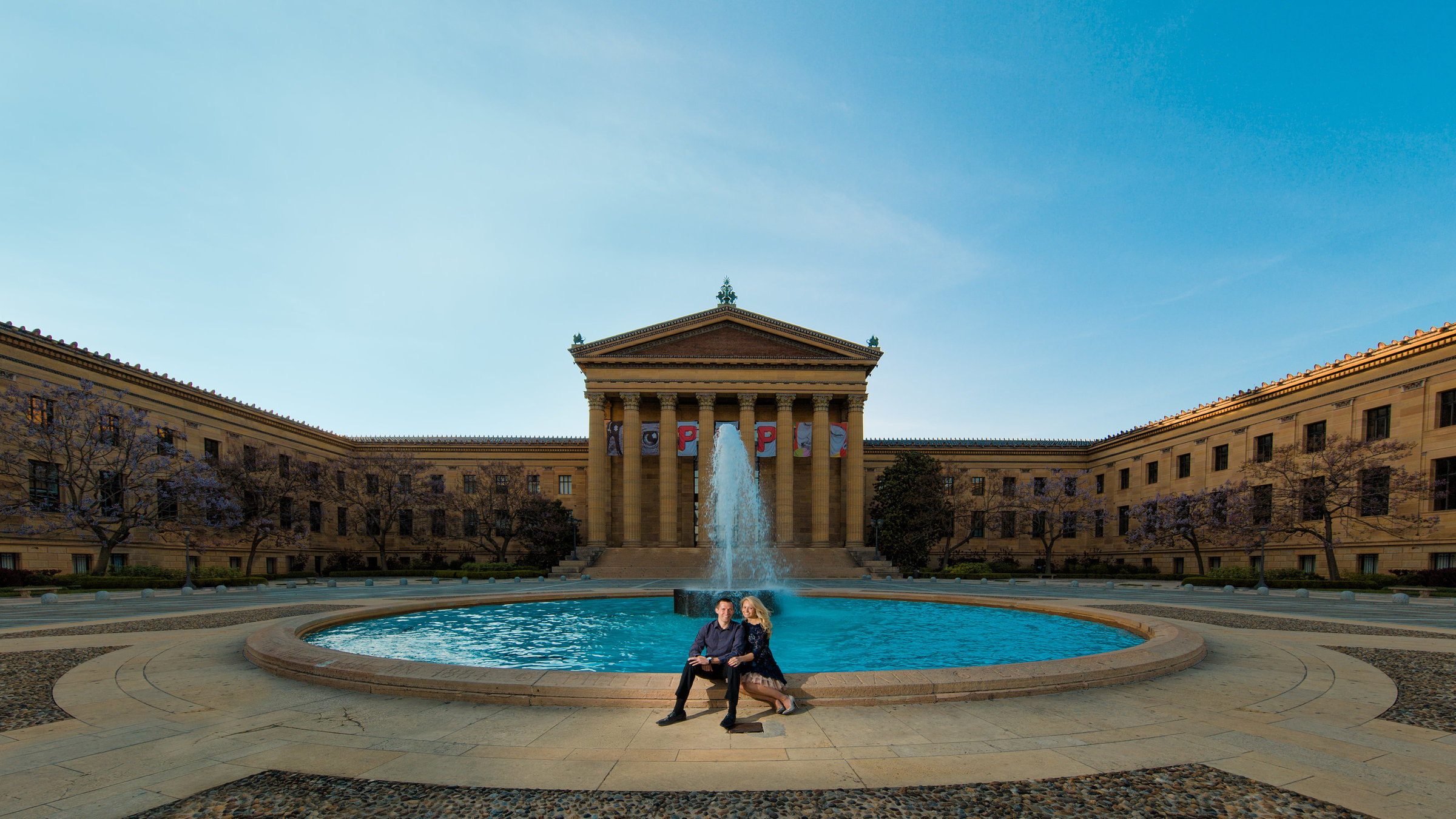 Philadelphia Museum of Art Engagement Session