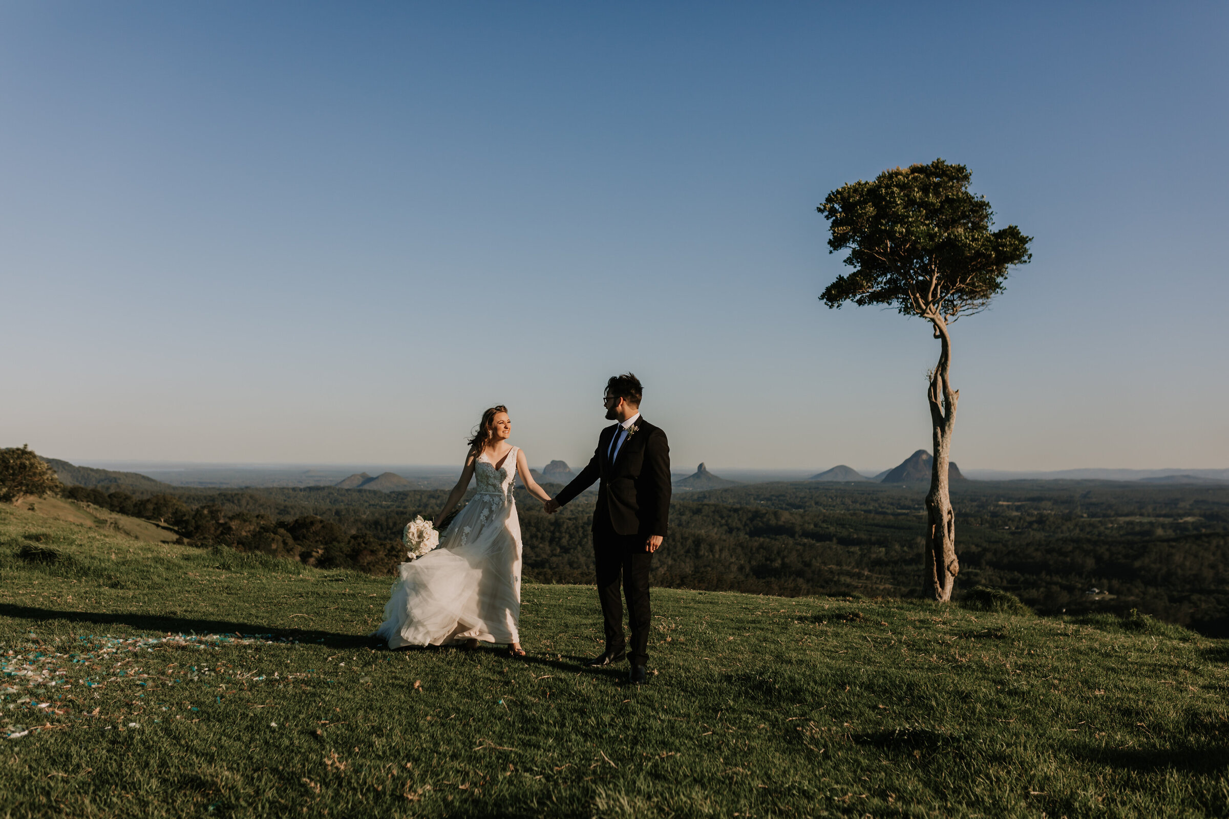 Hannah and Rob, Wedding in Maleny