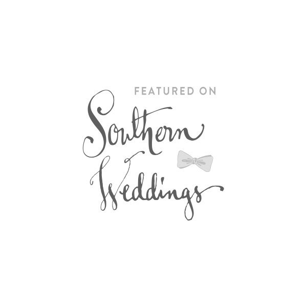 featured on southern weddings blog