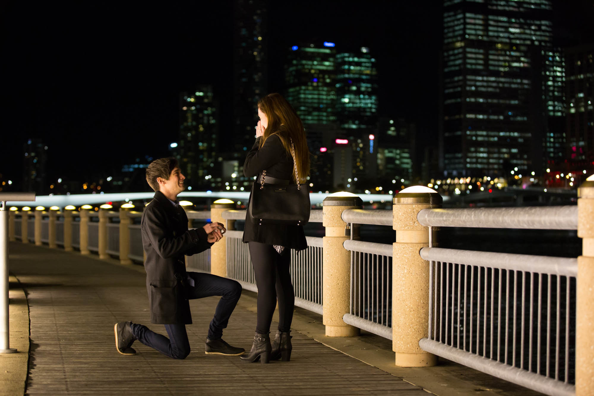 Night Proposal South Bank Anna Osetroff