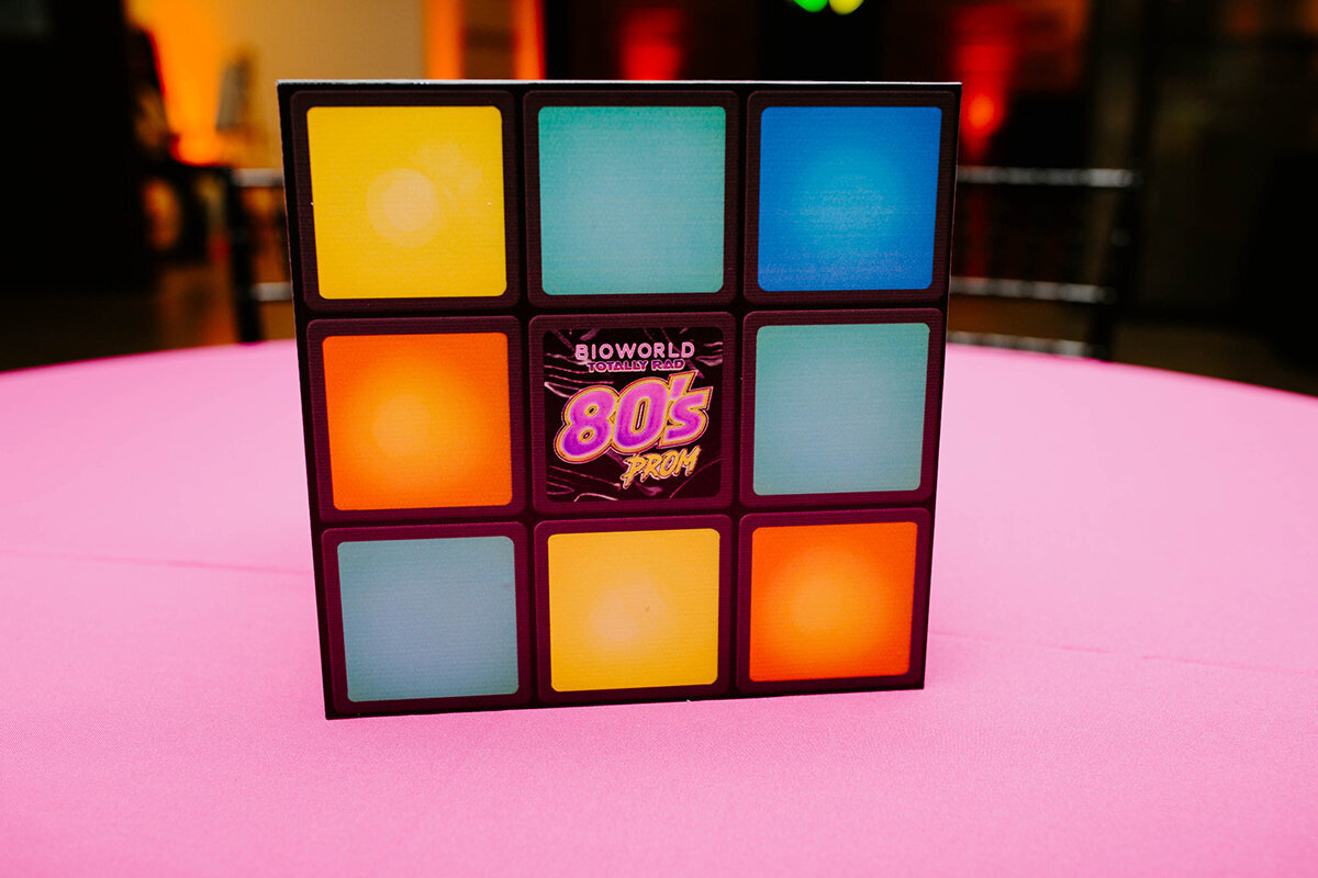 pop parties dallas corporate event planner 80s themed event 1